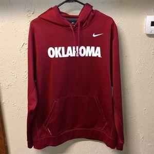Oklahoma Sooners Nike Therma-Fit Hoodie